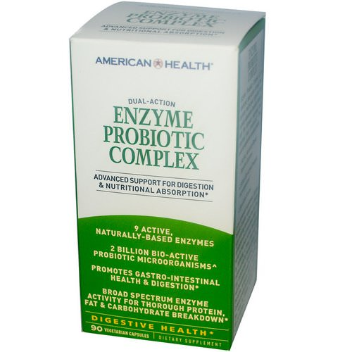 American Health, Enzyme Probiotic Complex, 90 Veggie Caps Review