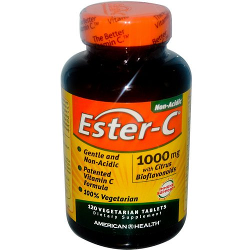 American Health, Ester-C, 1000 mg, 120 Veggie Tabs Review