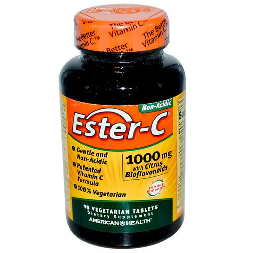 American Health, Ester-C, 1000 mg, 90 Veggie Tabs Review