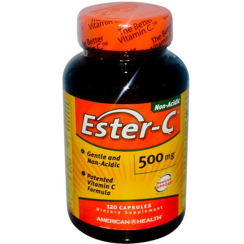 American Health, Ester-C, 500 mg, 120 Capsules Review