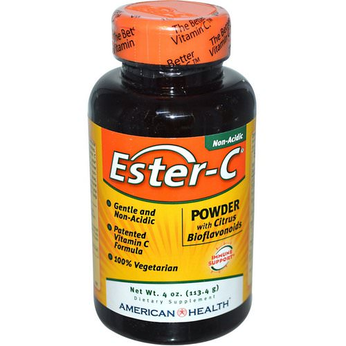 American Health, Ester-C, Powder with Citrus Bioflavonoids, 4 oz (113.4 g) Review