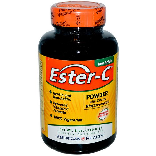 American Health, Ester-C, Powder with Citrus Bioflavonoids, 8 oz (226.8 g) Review