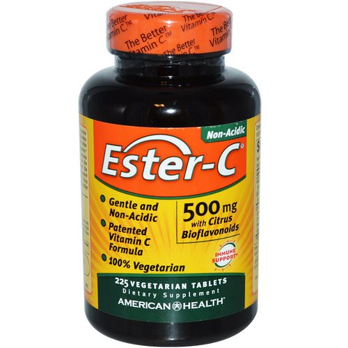 American Health, Ester-C with Citrus Bioflavonoids, 500 mg, 225 Veggie Tabs Review