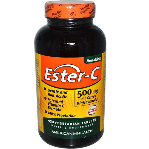 American Health, Ester-C, with Citrus Bioflavonoids, 500 mg, 450 Veggie Tabs Review
