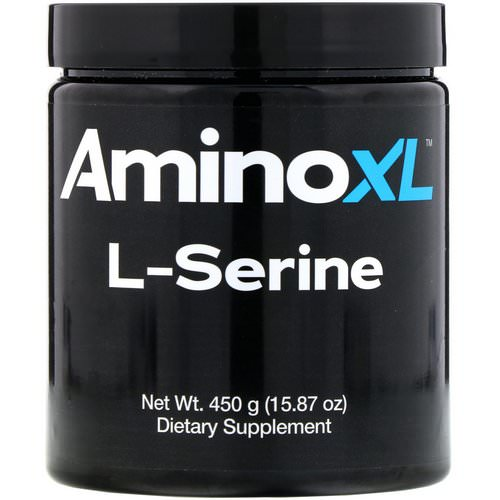 AminoXL, L-Serine, Unflavored Powder, 15.87 oz (450 g) Review