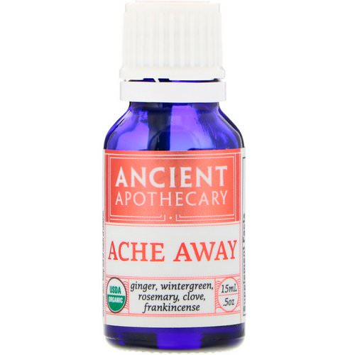 Ancient Apothecary, Ache Away, .5 oz (15 ml) Review