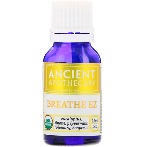 Ancient Apothecary, Breathe EZ, .5 oz (15 ml) Review