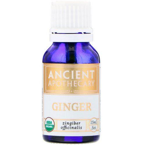 Ancient Apothecary, Ginger, .5 oz (15 ml) Review