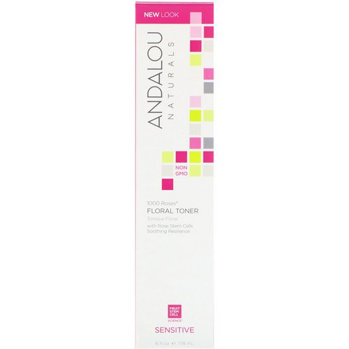 Andalou Naturals, Floral Toner, 1000 Roses, Sensitive, 6 fl oz (178 ml) Review