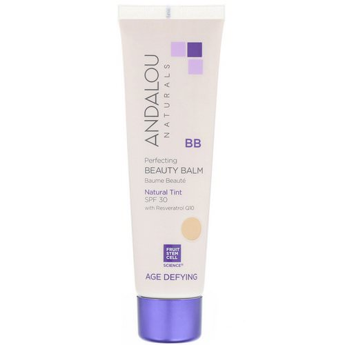 Andalou Naturals, BB Perfecting Beauty Balm, Age Defying, SPF 30, Natural Tint, 2 fl oz (58 ml) Review