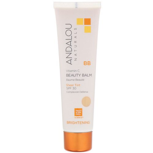 Andalou Naturals, BB Vitamin C Beauty Balm, Brightening, SPF 30, Sheer Tint, 2 fl oz (58 ml) Review