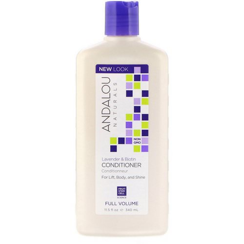 Andalou Naturals, Conditioner, Full Volume, For Lift, Body, and Shine, Lavender & Biotin, 11.5 fl oz (340 ml) Review