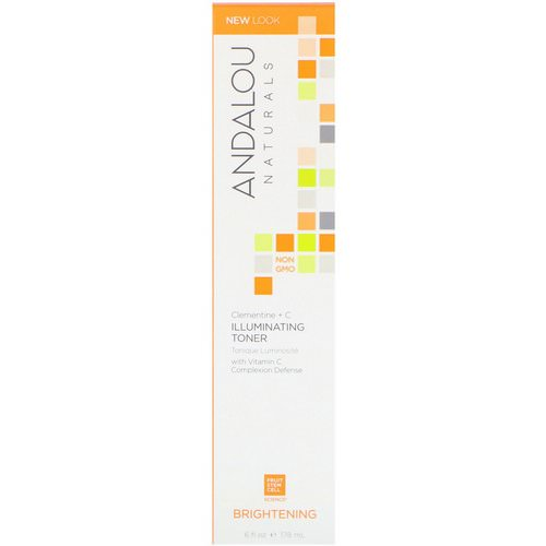 Andalou Naturals, Illuminating Toner, Clementine + C, Brightening, 6 fl oz (178 ml) Review