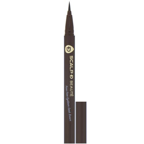 Angfa, Scalp-D Beaute, Pure Free Eyeliner, Dark Brown, 0.02 fl oz (0.57 ml) Review