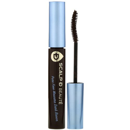 Angfa, Scalp-D Beaute, Pure Free Mascara, Dark Brown, 0.21 oz (6 g) Review