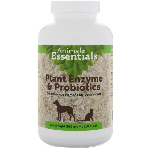 Animal Essentials, Plant Enzyme & Probiotics, For Dogs + Cats, 10.6 oz (300 g) Review