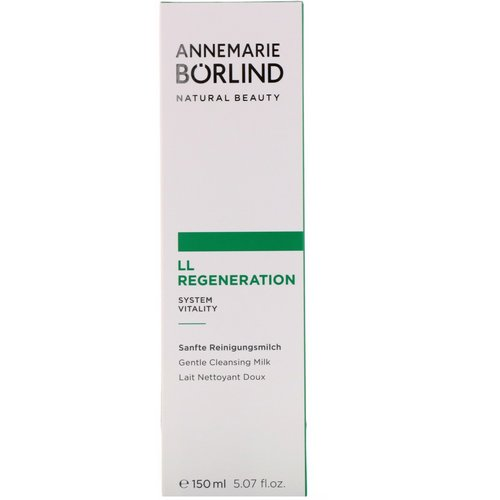 AnneMarie Borlind, LL Regeneration, Gentle Cleansing Milk, 5.07 fl oz (150 ml) Review