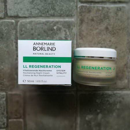 AnneMarie Borlind Organic Skin Care Beauty Face Moisturizers