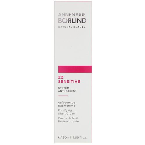 AnneMarie Borlind, ZZ Sensitive, Fortifying Night Cream, 1.69 fl oz (50 ml) Review