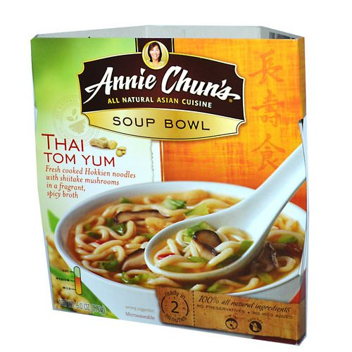 Annie Chun's, Soup Bowl, Thai Tom Yum, Medium, 6.0 oz (170 g) Review