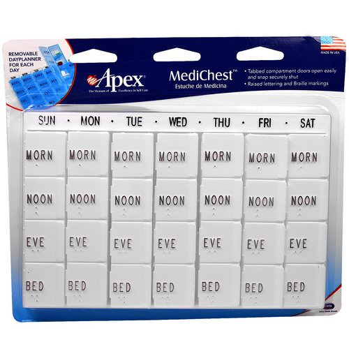 Apex, MediChest, Vitamin and Medication Organizer Review