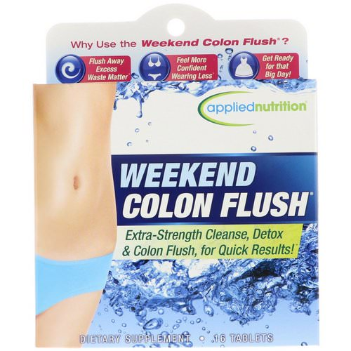 appliednutrition, Weekend Colon Flush, 16 Tablets Review