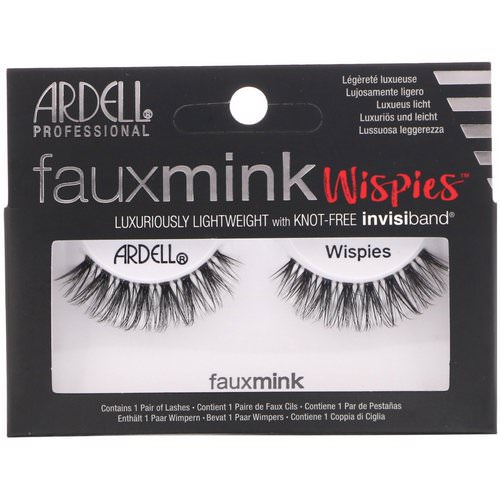 Ardell, Faux Mink, Wispies, 1 Pair Review