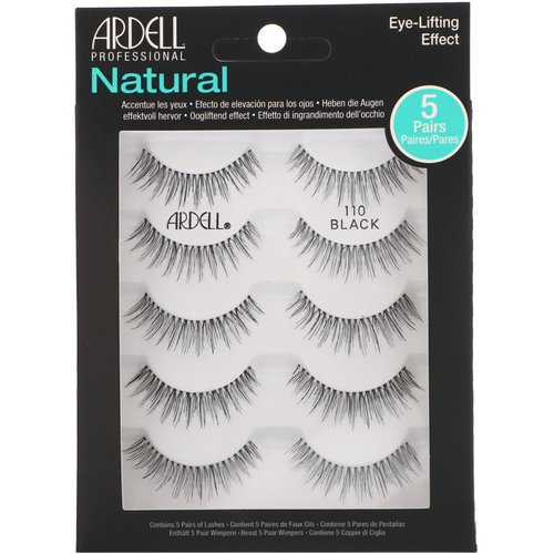 Ardell, Natural Lash, Eye-Lifting Effect, 5 Pairs Review