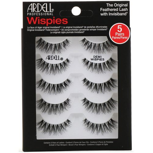 Ardell, Wispies, Original Feathered Lash With Invisiband, 5 Pairs Review