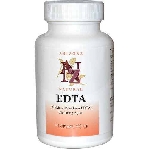 Arizona Natural, EDTA, 600 mg, 100 Capsules Review