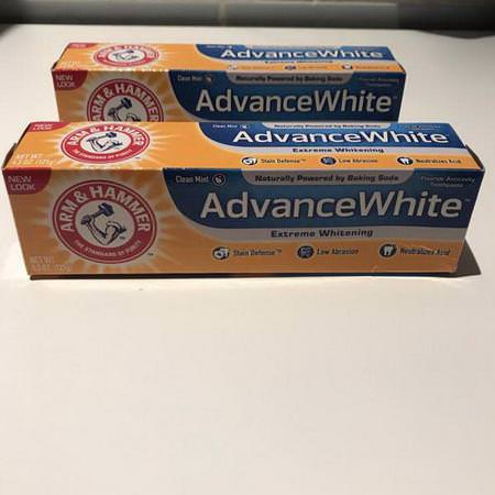 Advance White, Extreme Whitening Toothpaste, Clean Mint