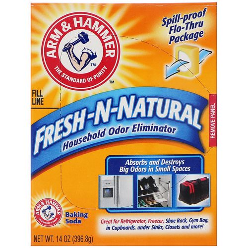 Arm & Hammer, Fresh-n-Natural Household Odor Eliminator Baking Soda, 14 oz (396.8 g) Review