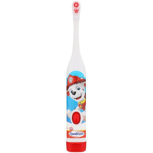 Arm & Hammer, Kid's Spinbrush, Paw Patrol, Soft, 1 Battery Powered Toothbrush Review