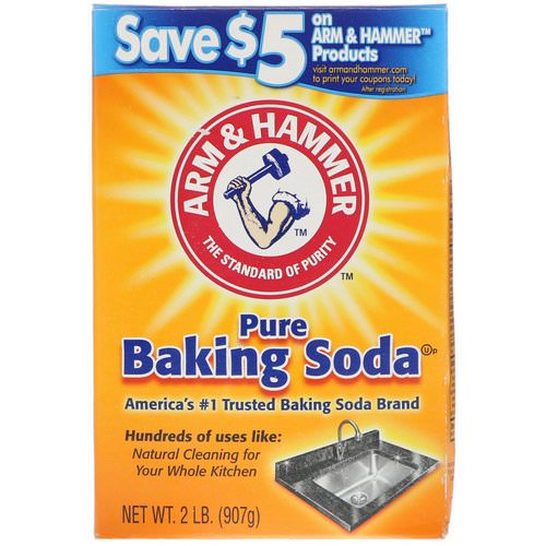 Arm & Hammer, Pure Baking Soda, 2 lb (907 g) Review