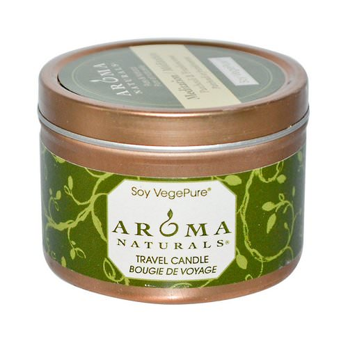 Aroma Naturals, Soy VegePure, Travel Candle, Meditation, Patchouli & Frankincense, 2.8 oz (79.38 g) Review