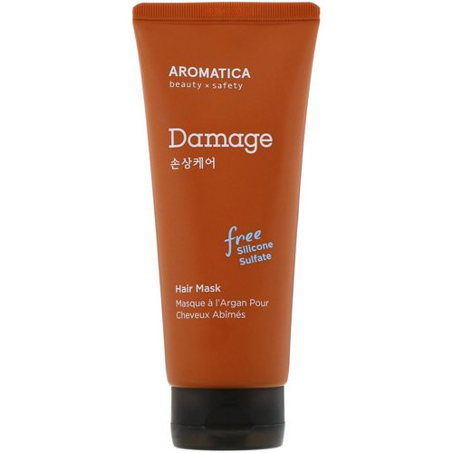 Aromatica, Argan Hair Mask, Damage Care, 6.3 oz (180 g) Review