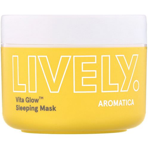 Aromatica, Lively, Vita Glow, Sleeping Mask, 3.5 oz (100 g) Review