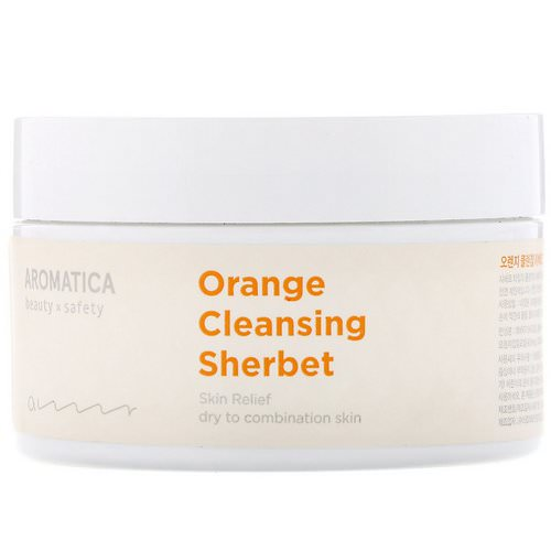 Aromatica, Orange Cleansing Sherbet, 6.3 oz (180 g) Review