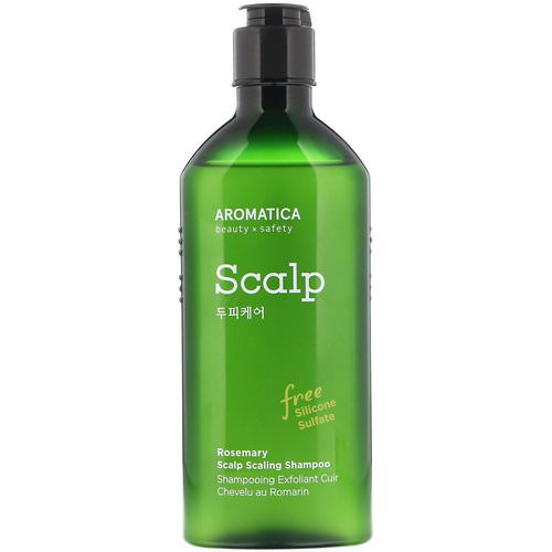 Aromatica, Rosemary Scalp Scaling Shampoo, 8.4 fl oz (250 ml) Review