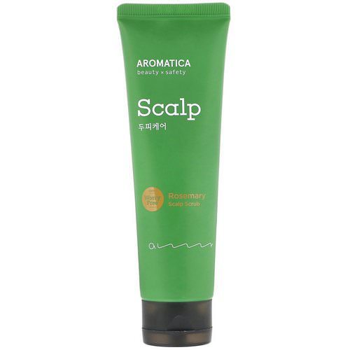 Aromatica, Rosemary Scalp Scrub, 5.8 oz (165 g) Review