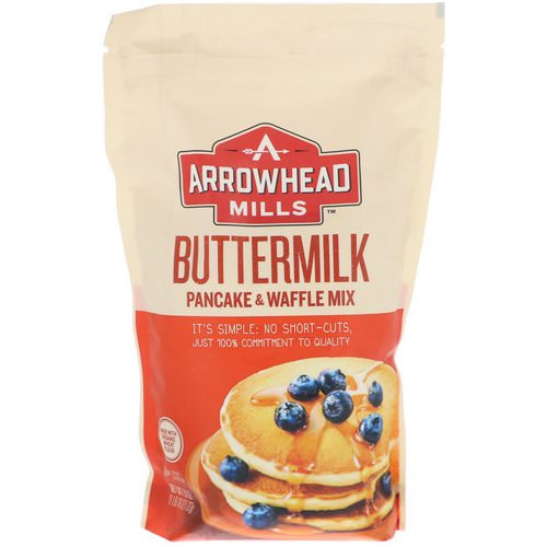 Arrowhead Mills, Buttermilk, Pancake & Waffle Mix, 1.6 lbs (737 g) Review