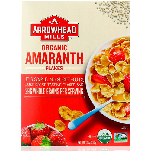 Arrowhead Mills, Organic Amaranth Flakes, 12 oz (340 g) Review