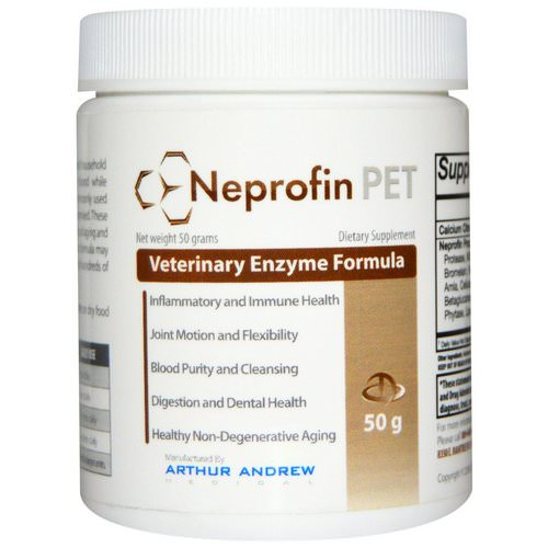 Arthur Andrew Medical, Neprofin Pet, 50 g Review