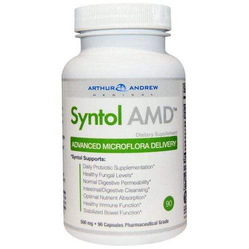 Arthur Andrew Medical, Syntol AMD, Advanced Microflora Delivery, 500 mg, 90 Capsules Review