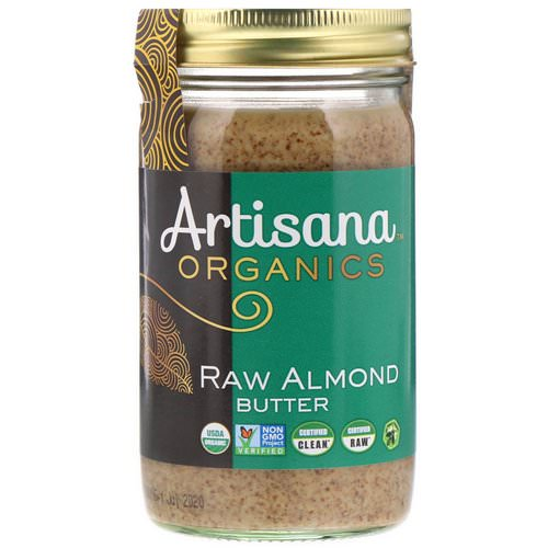 Artisana, Organics, Raw Almond Butter, 14 oz (397 g) Review