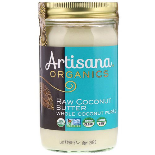 Artisana, Organics, Raw Coconut Butter, 14 oz (397 g) Review