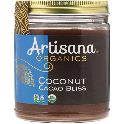 Artisana, Organics, Raw Coconut Cacao Bliss, Nut Butter, 8 oz (227 g) Review