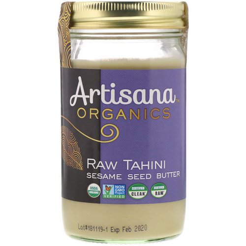 Artisana, Tahini, Sesame Seed Butter, 14 oz (397 g) Review