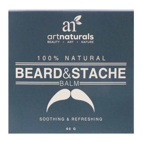 Artnaturals, 100% Natural, Beard & Stache Balm, 60 g Review