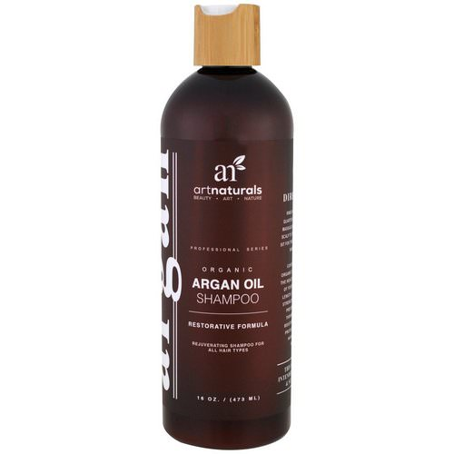 Artnaturals, Argan Oil Shampoo, Restorative Formula, 16 fl oz (473 ml) Review